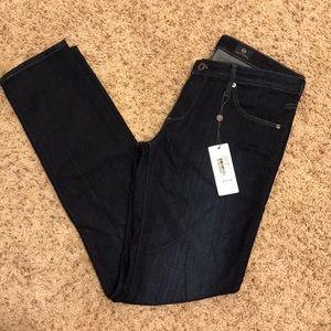 AG the Stilt dark wash skinny jeans